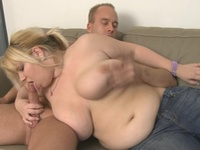He Has Picked Up By Awesome Blonde Plumper