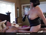 BBW Kelly Shibari From Roseanne XXX 69's And Gets Drilled