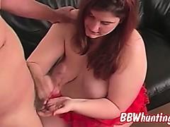 Nasty Bbw Gives Pro Handjob