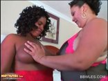 Close-up With Ebony Cunt Licked By Lesbian BBW